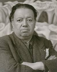 This is a picture of Diego Rivera. I put this on cause he was once married to Frida Kahlo Diego Rivera Art, Diego Rivera Frida Kahlo, Famous Mexican Painters, Mexican Artists, Anthony Kiedis, Frida E Diego, Clemente Orozco, Portraits, Mexico City
