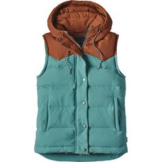 Patagonia - Bivy Hooded Down Vest - Women's - Mogul Blue