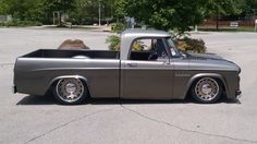 Great Hot Rod Rake with \'64 Dodge D -100