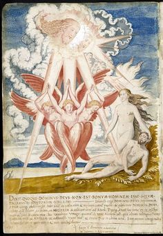 Over thirty years - from 1543 to 1573 - Holanda sketched and painted designs intended to portray the history of the world according to the bible Creation Myth, Occult Art, Demonology, Biblical Art, Adam And Eve, Medieval Art, Illustrations, Imagines, Illuminated Manuscript
