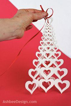 Ashbee Design: Valentine Heart Tree Tutorial