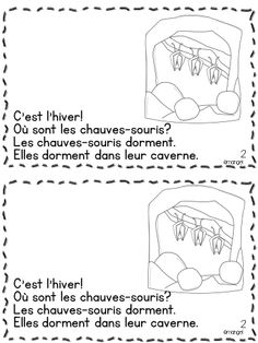 C'est L'Hiver!  Où Sont Les Animaux?  An original Emergent Reader in French featuring winter animals hibernating in their natural habitats.