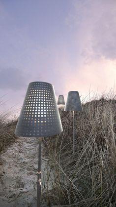 Industrielle Stehlampe|Weglampe Fuse - Garten Lampe