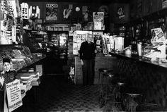 "Title: W. ""Doc"" Cannon, Yorba Linda Pharmacy Date: circa 1937 Yorba Linda, Ground Level, Pharmacy, Cannon, Apothecary"