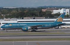 VIETNAM AIRLINES, BOEING 777 (777-200), VN-A149, at JFK, New York, USA. Sept 2010
