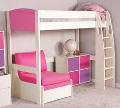 Stompa Uno-S10 Highsleeper - Pink
