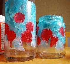 How to make a stained glass poppy votive Here's a fun little project that would make a lovely teacher or hostess gift for the holidays. Nursing Home Crafts, Remembrance Day Art, Poppy Craft, Arts And Crafts, Paper Crafts, Anzac Day, Art Activities For Kids, Art Lesson Plans, Cute Crafts