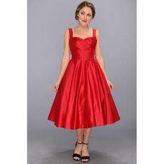 Unique Vintage Happily Ever After Dress (Red) Women's Dress | Find.com