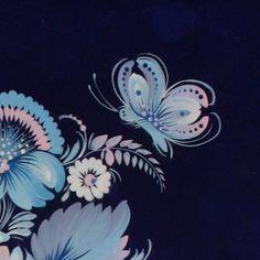 Блакитна пісня - Валентина Хоменко - Petrykivka art