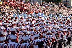 Band + Rose Bowl parade = goosebumps.