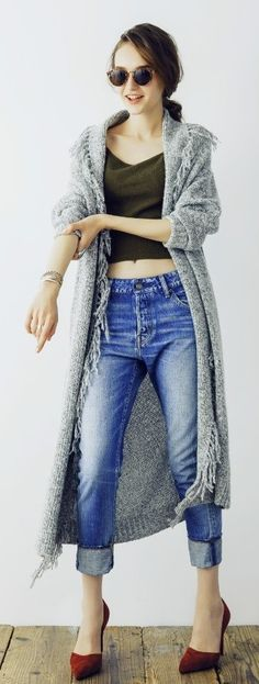 #genuine-people #genuinepeople #long #cardigan #sweater #winteroutfit