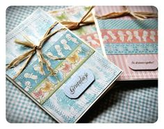 Little Darlings cards by Magda Jagielska #graphic45 #cards