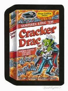 images of wacky packages | BRENT ENGSTROM'S BLOG: Wacky Packages Halloween 2011 postcard ...