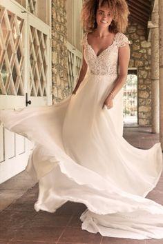 Maggie Sottero Wedding Dresses, Wedding Bridesmaid Dresses, Bridal Dresses, Bridal Gown, Wedding Gowns, Rembo Styling, Bridal Looks, Bridal Style, Enchanted Bridal