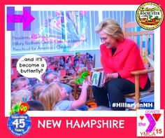 Presidential Candidate #Hillary2016 calls4 Universal Preschool 4 #America's #Children #NH #FT #NCIS #NASA #YMCA #Moon