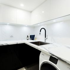 The Block Triple Threat: Room Reveal Laundry, Powder Room and Wine Cellar