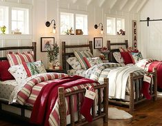 Have a big family and beautifully decorated rooms for the kids!