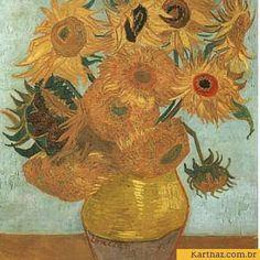 Sunflowers de van Gogh - ebook gratuito para artistas e produtores culturais lutando para fianciar seus projetos http://www.karthaz.com/ebook-gratis/