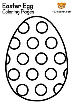 Easter Egg Coloring Pages Easter Coloring Pages Printable, Easter Bunny Colouring, Easter Egg Coloring Pages, Easter Printables, Coloring For Kids Free, Coloring Pages For Kids, Adult Coloring, Coloring Books, Easter Bunny Template