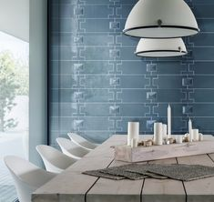 Hit Collection by Hrg-Heralgi 2018 Interior Design Trends, Pastel Colors, Colours, Color Of The Week, Geometric Shapes, Master Bathroom, Dining Table, The Originals, Modern
