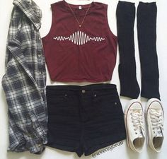band merch rock arctic monkeys burgundy crop tops outfit teenagers