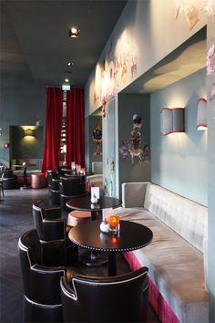 "The ""Salon"": A café in romantic, nostalgic style at Frankfurt's chocolaterie ""Bitter & Zart"""
