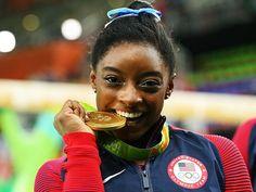 Simone Biles wins all around women's gold