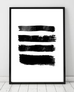 Minimalist Abstract Print Brushes by DesignersForeverShop on Etsy