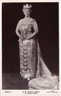 Königin Mary von England, Queen of Britain, nee Princess Teck