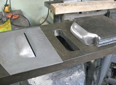 Homemade louver punch and die set