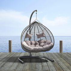 Schicker Hängesessel in Grau - zum Relaxen ein Hit! | Möbel ...