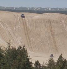 Florence, Oregon sand dunes... SO much fun, even thought I could have died!