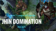 JHIN DOMINATION - S7 EP6 Full Game Commentary - Jhin ADC https://www.youtube.com/watch?v=UriXMRYtHUE&feature=youtu.be #games #LeagueOfLegends #esports #lol #riot #Worlds #gaming