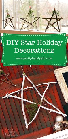 DIY holiday decorati
