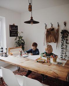 Project Table, Love Art, Desk, Interior Design, House, Furniture, Instagram, Color, Home Decor