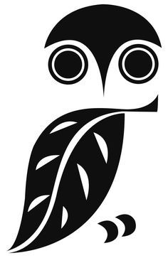 "Leonardo da Vinci: ""Simplicity is the ultimate sophistication."" owl logo (illustrator unknown) by reva Owl Silhouette, Vintage Silhouette, Stencil Patterns, Owl Stencil, Felt Patterns, Owl Art, Pyrography, Painted Rocks, Vinyl Decals"