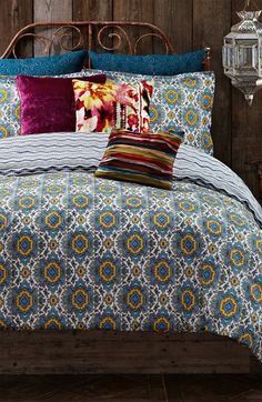 Country fresh bedding. Love!