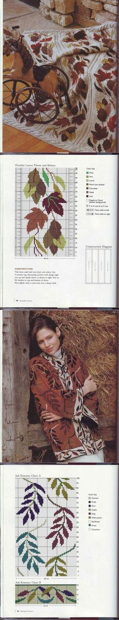 Журнал «Sasha Kagan's Country Inspiration» . | вязание(жаккард,вышивка) | Постила