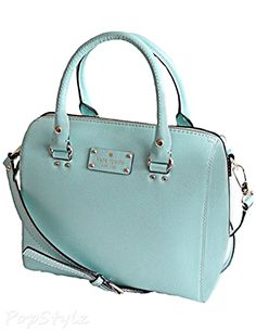 Kate Spade Wellesley Alessa Leather Satchel Handbag