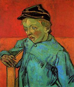 The Schoolboy (Camille Roulin) - Vincent van Gogh