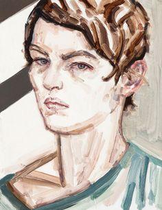 Elizabeth Peyton - Self-Portrait