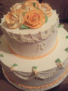 Wedding cake American style