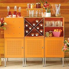 Container Store QBO® Steel Cube Bar Enameled Orange on shopstyle.com