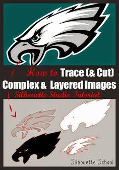 Tracing Complex and Multi-Color Designs (Silhouette Tutorial)
