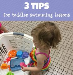 3 tips for making the most of toddler swimming lessons