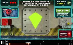 Symmetry Puzzle Games - 9-11 year olds - Topmarks