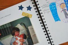 Scarpbook for fathers or mothers day. Regalo personalizado para el día del padre, o cualquier otro día...