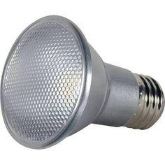 Satco Products Satco S9405 7 Watt/PAR20/40 Degree Beam/Medium Base Energy Star | LED Light Bulbs