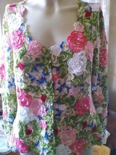 Irish Crochet, Knit Crochet, Corset, Boho Fashion, Knitting, Blouse, Handmade, Image, Pasta