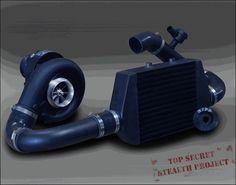 RIPP 2007-11 Jeep Wrangler JK 3.8 V6 Supercharger Kit Intercooled Black Ops Limited Production CARB Legal